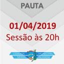 CONFIRA A PAUTA DA PRÓXIMA SESSÃO NA CÂMARA DE VEREADORES