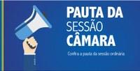 CONFIRA A PAUTA DA SESSÃO DESTA SEGUNDA, 03