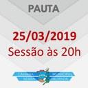 CONFIRA A PAUTA PARA A SESSÃO DA PRÓXIMA SEGUNDA-FEIRA, 25