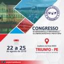 CONGRESSO DE VEREADORES COMEÇA HOJE EM TRIUNFO