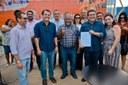 VEREADORES PARTICIPAM DA ASSINATURA DA ORDEM DE SERVIÇO DA ESCOLA DO VILA BELA